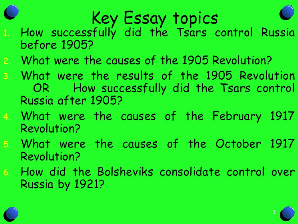 What Were the Causes of the Russian Revolution