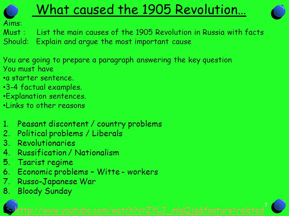 russian revolution 1905 essay example The causes of the russian revolution of 1917 have been essays related to the russian revolution: the causes of the 1905 revolution in russia.