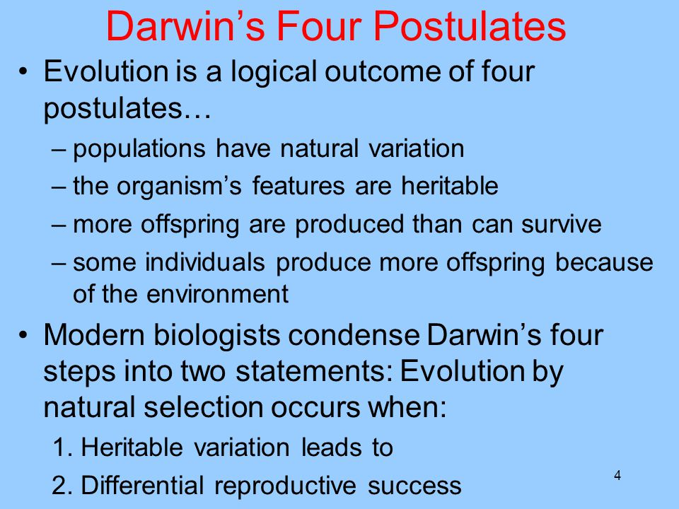 Natural Selection In Populations