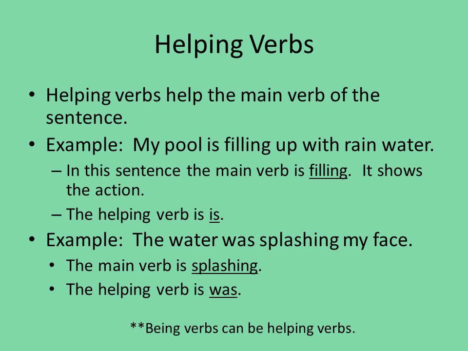 Nouns And Verbs All Different Types Ppt Video Online Download
