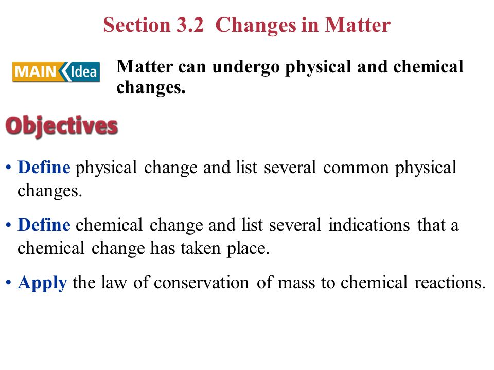 Chapt 3 Matter – Properties & Change - ppt download