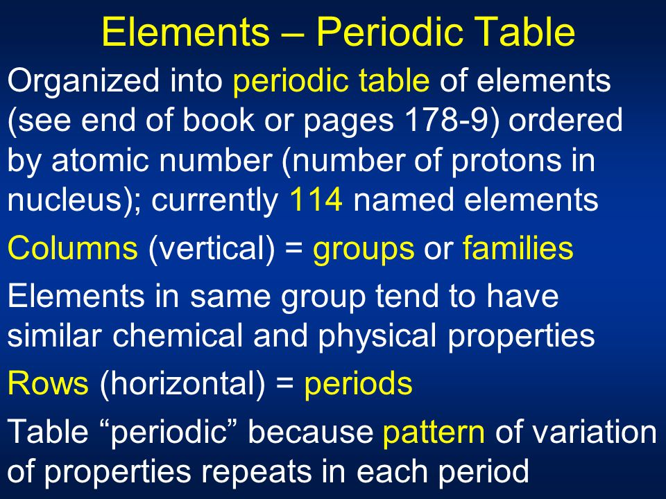 Chapt 3 matter properties change ppt download for 114 element periodic table