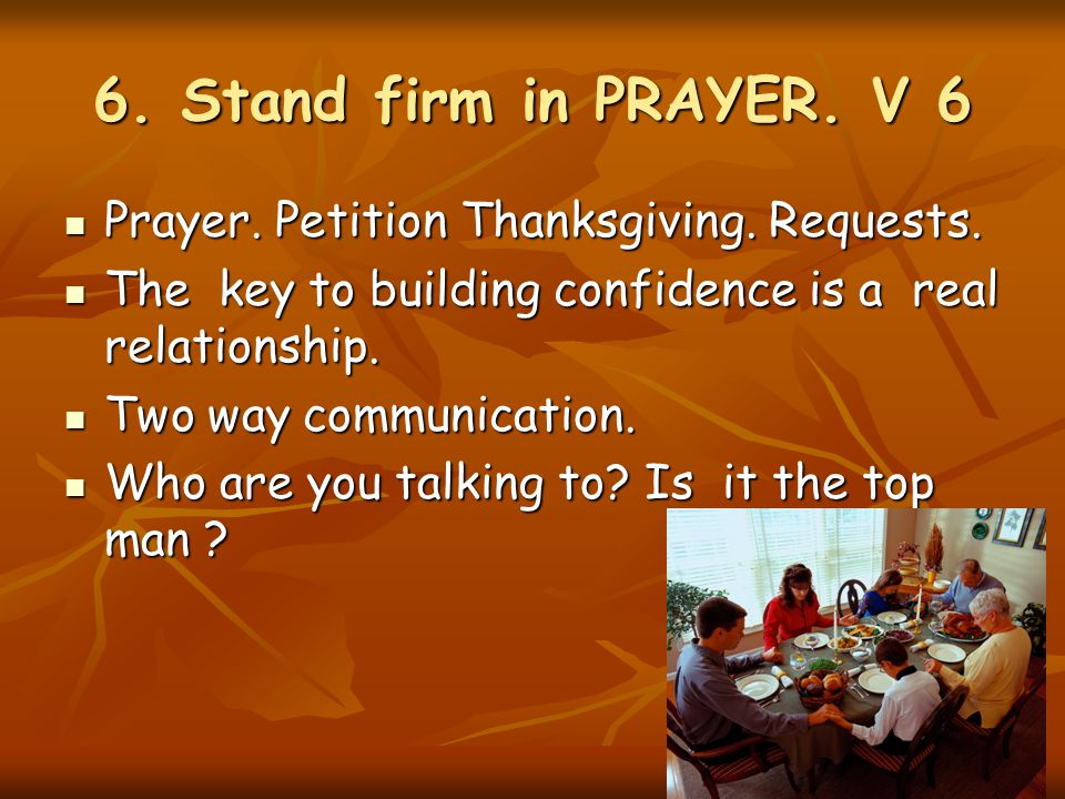 building relationship with god through prayer and petition