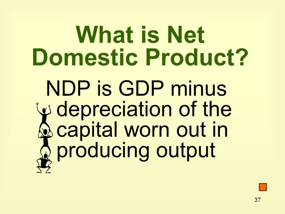 What is Net Domestic Product