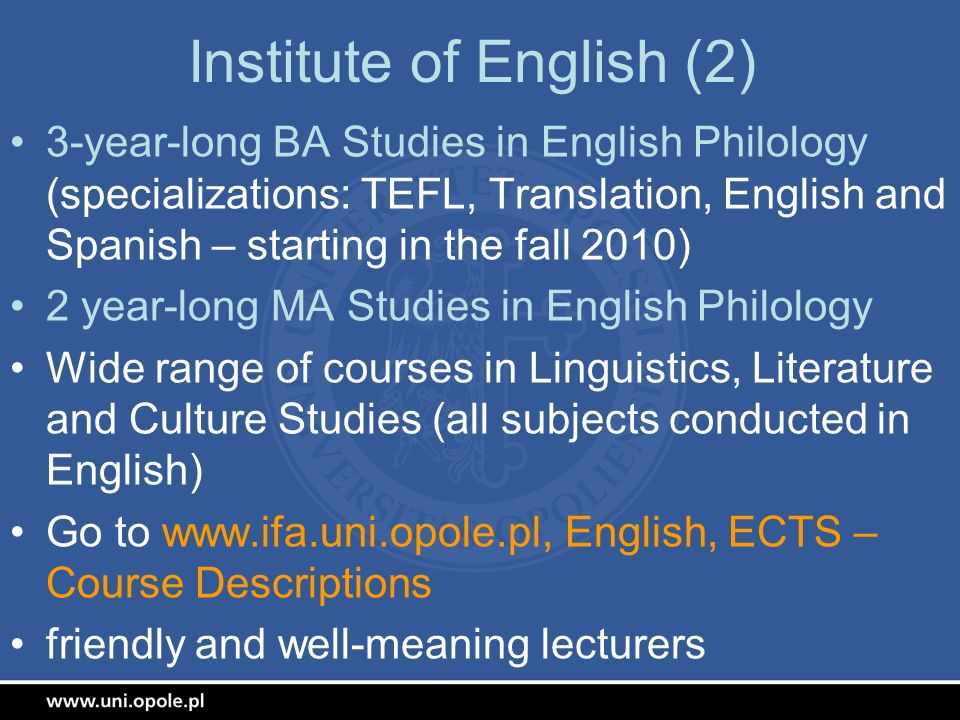 Institute of English (2)