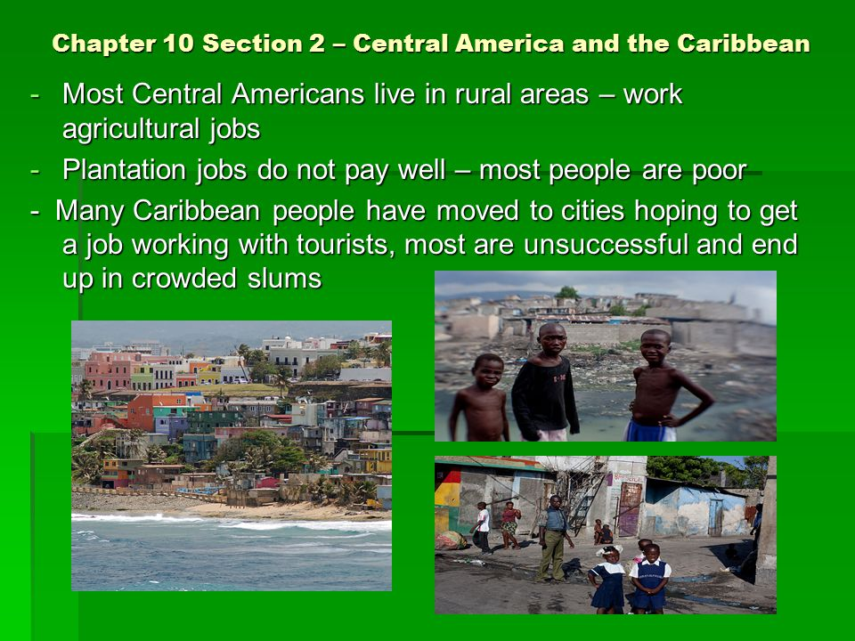 jobs in central america