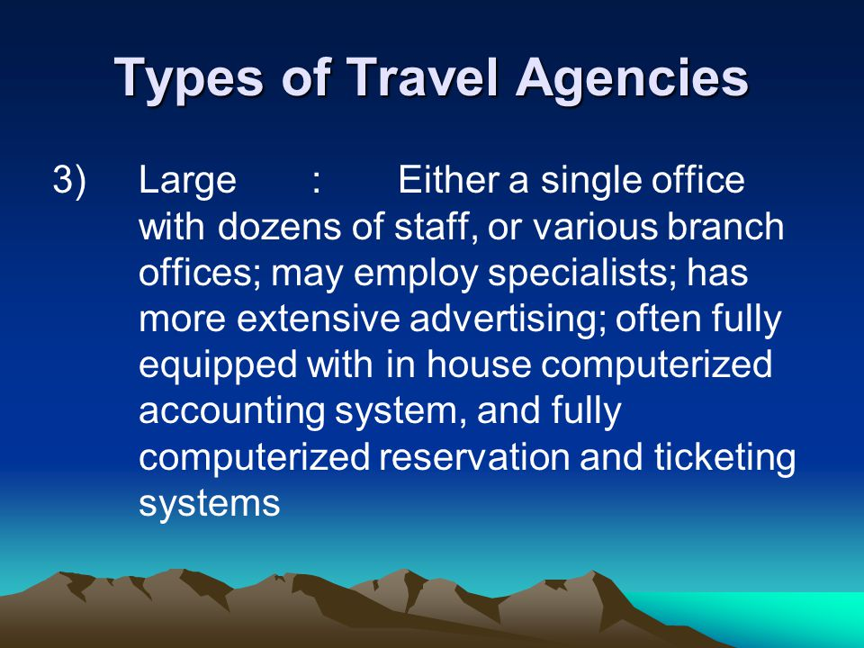 Introduction To The Travel Industry Ppt Video Online