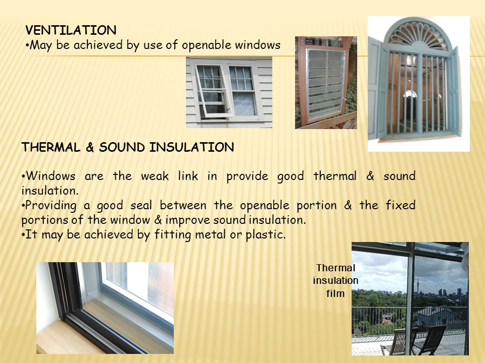 Doors and windows ppt video online download for High insulation windows