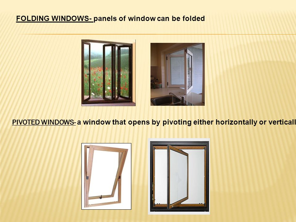 Doors And Windows Ppt Video Online Download