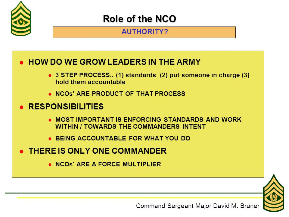 The importance of accountability in the us army