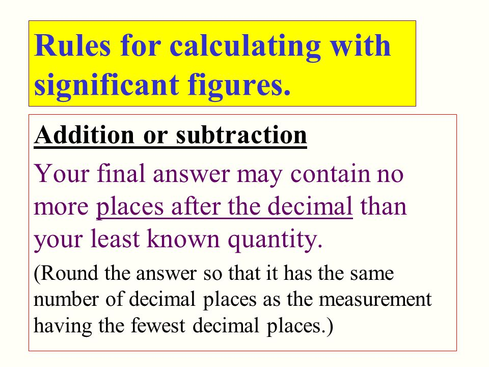 significant figures examples and answers pdf