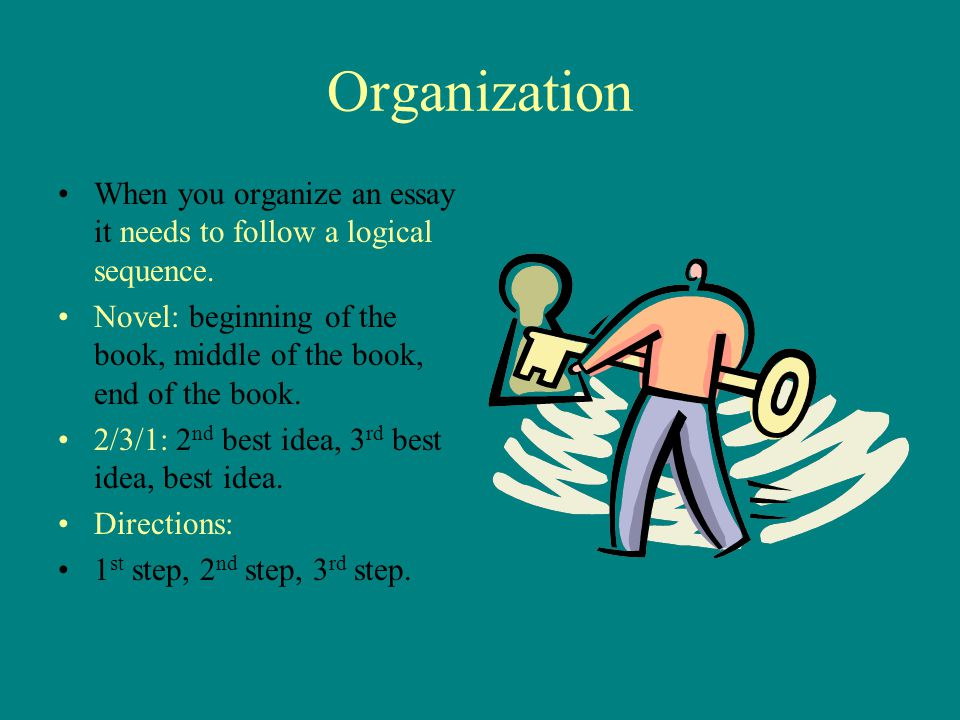 "the ""how and why"" of writing ppt video online  organization when you organize an essay it needs to follow a logical sequence novel"
