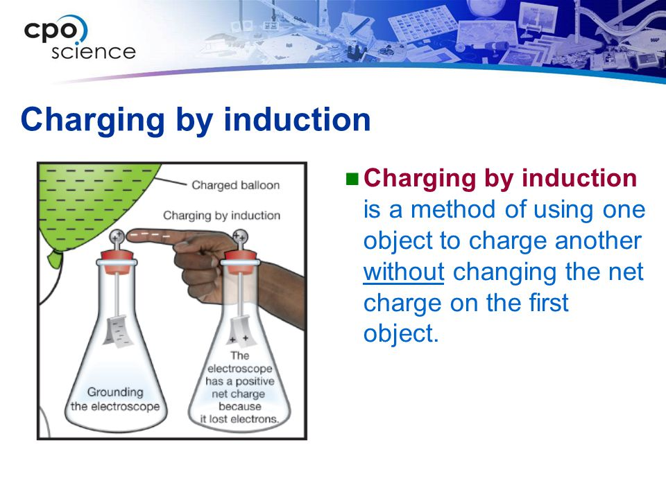 Charging by induction