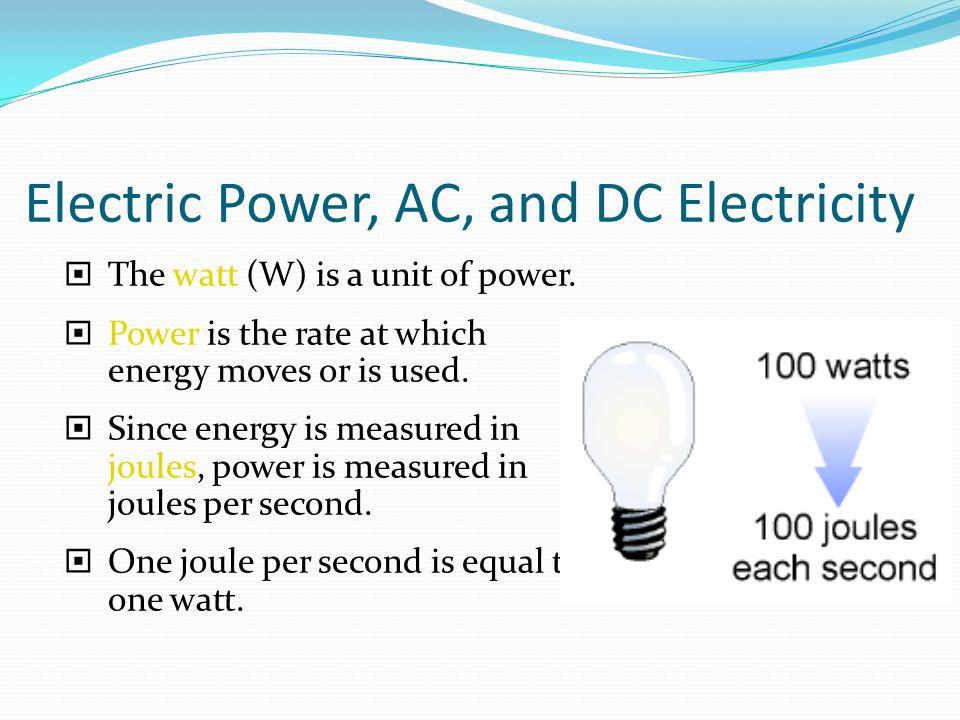 ac dc electricity