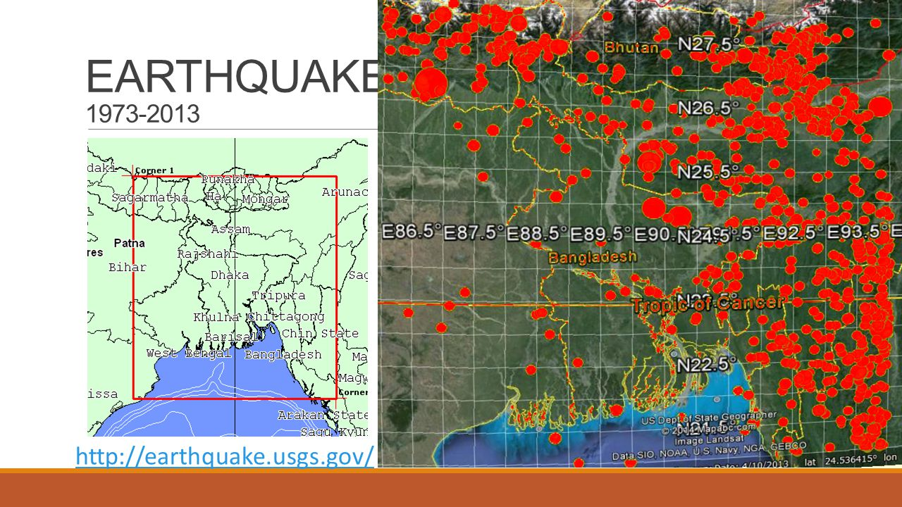 Earthquake risk in Bangladesh