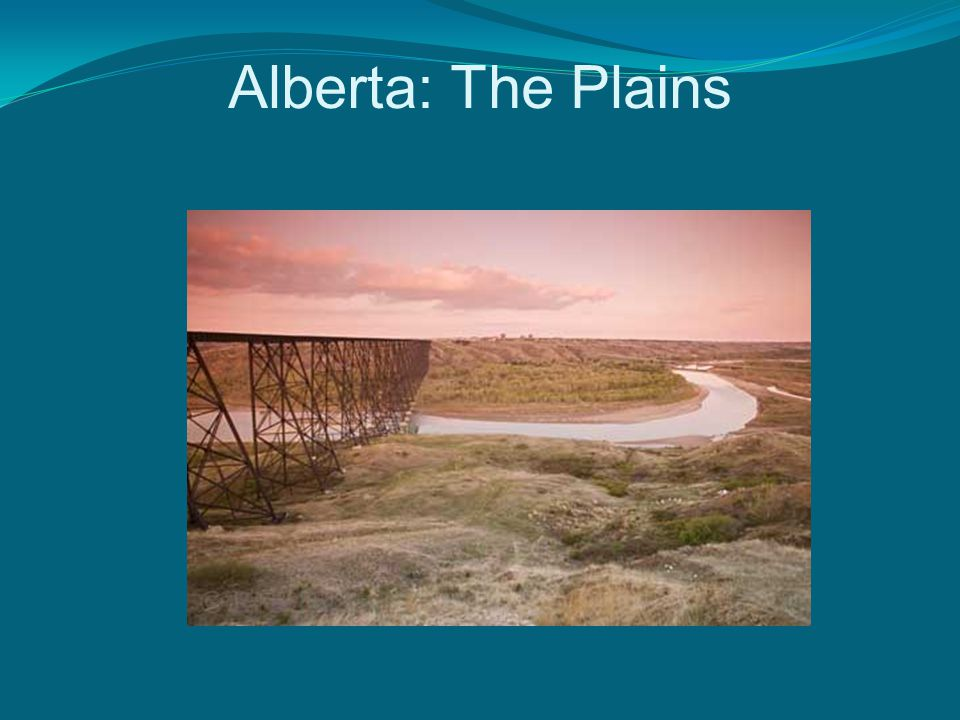 Alberta: The Plains