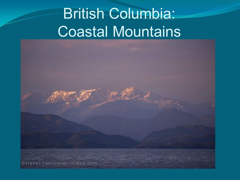 British Columbia: Coastal Mountains