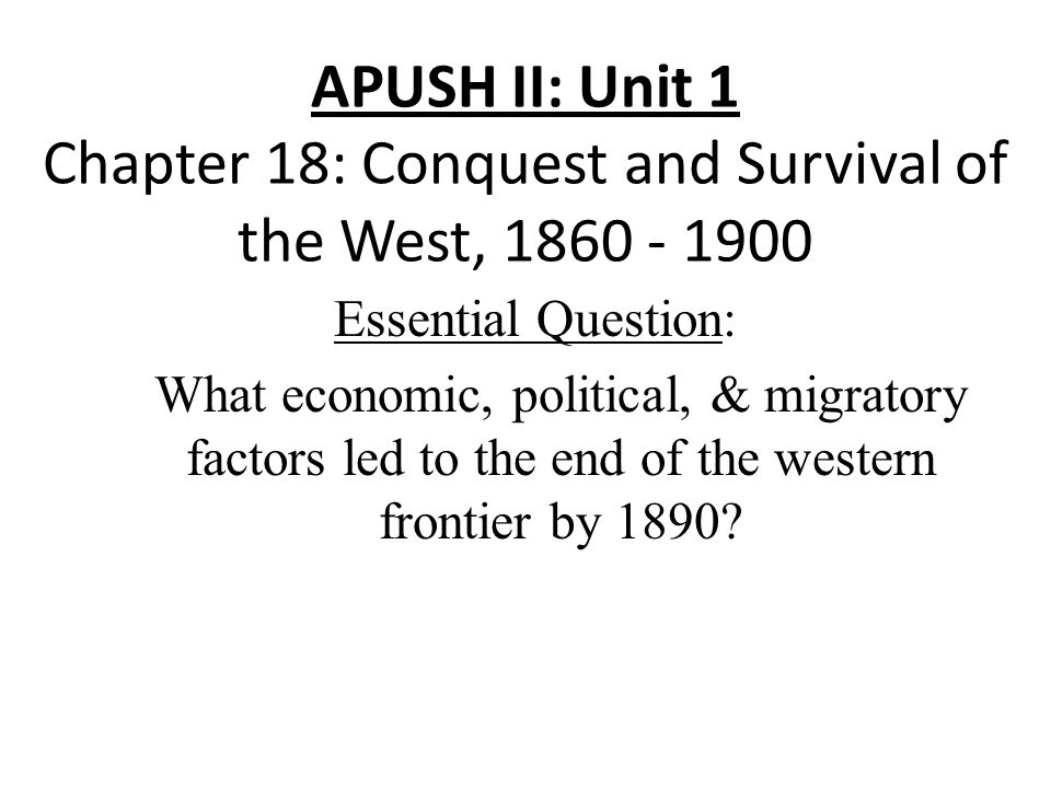 APUSH Unit 1 Test Review 1491-1607