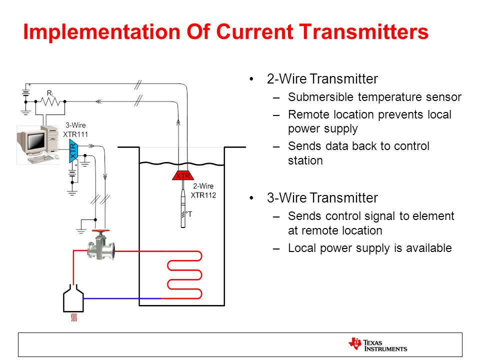 Implementation+Of+Current+Transmitters 2 wire vs 3 wire transmitters ppt download local control station wiring diagram at bakdesigns.co