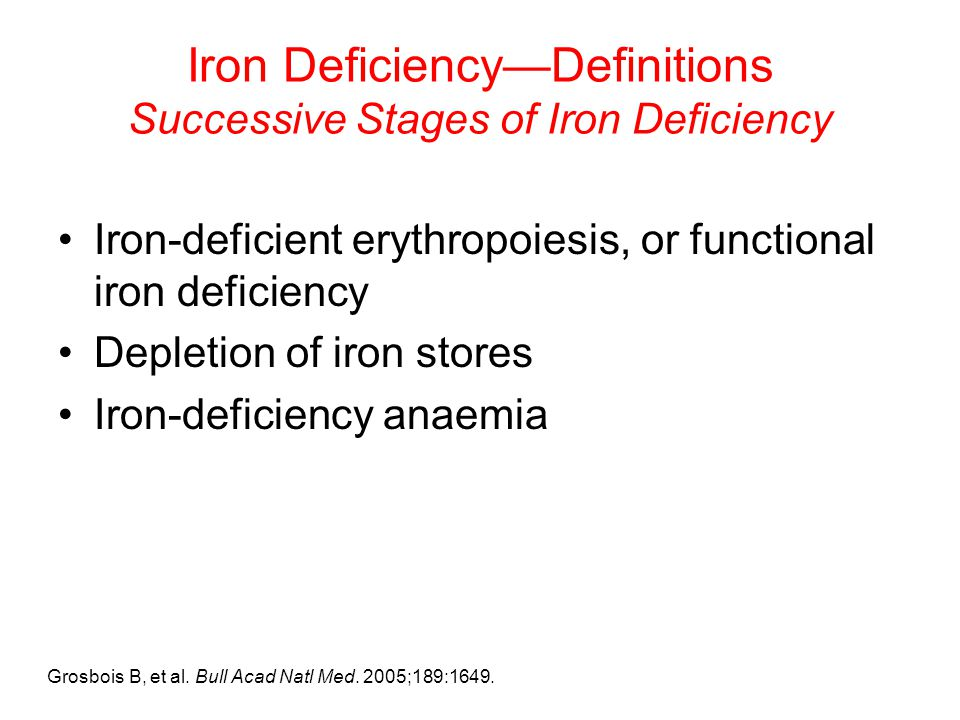 Iron Deficiency Clinical Sequelae and Diagnosis ppt video