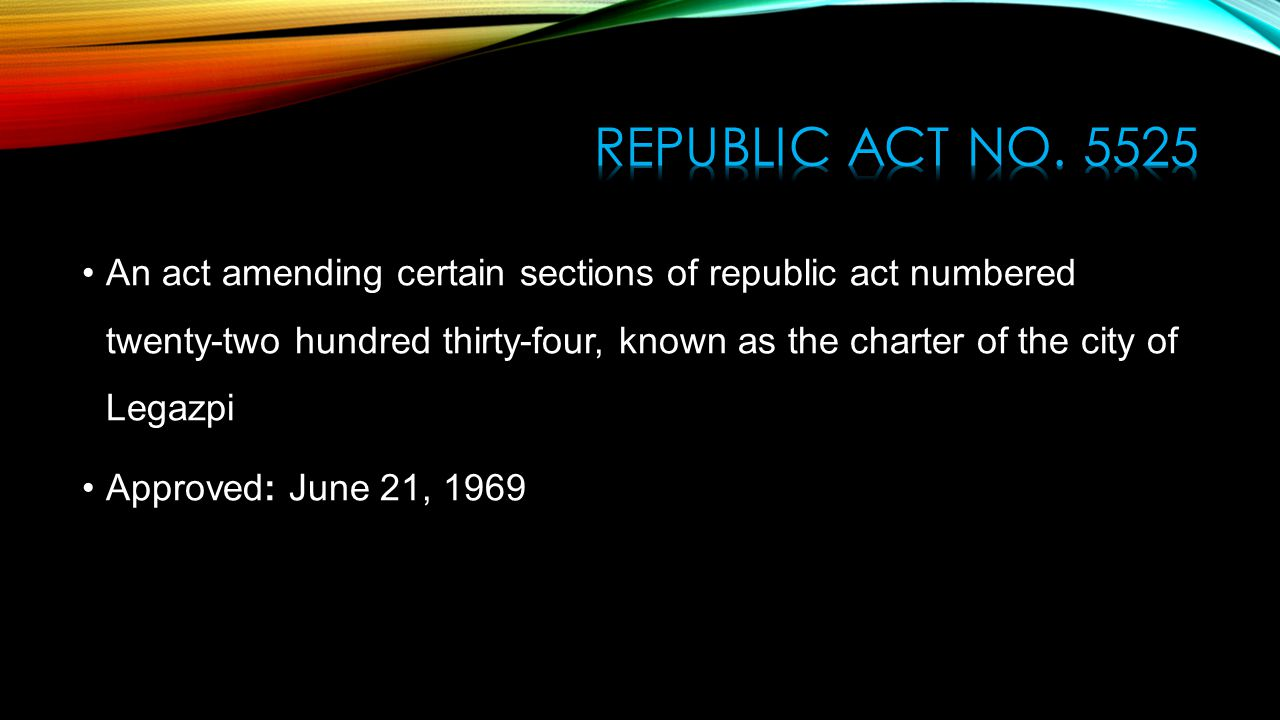 republic act no An act amending republic act no 7698 declaring august 6 of every year a special nonworking public holiday in the province of cebu to include its highly urbanized cities of cebu and mandaue and its component cities of lapulapu, danao and toledo.