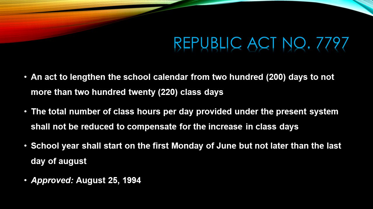 Calendar Year Under Companies Act : Time line of the philippine educational system ppt video