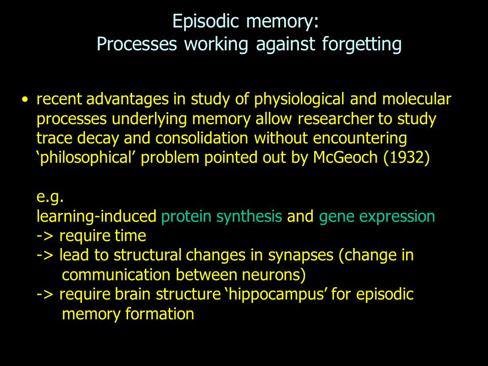 outline the memory construction process At the heart of cognitive information processing theory is its proposed memory retrieval of information from long-term memory the process of retrieval from.