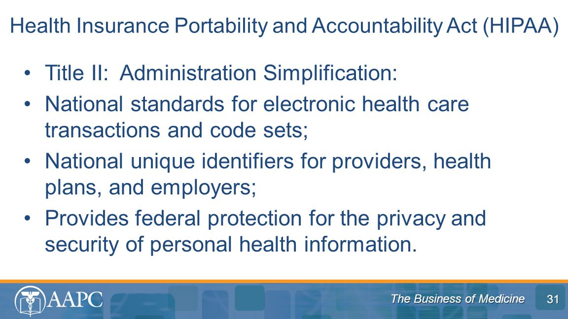 health insurance portability and accountability act essay