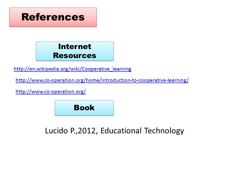 Lucido P.,2012, Educational Technology