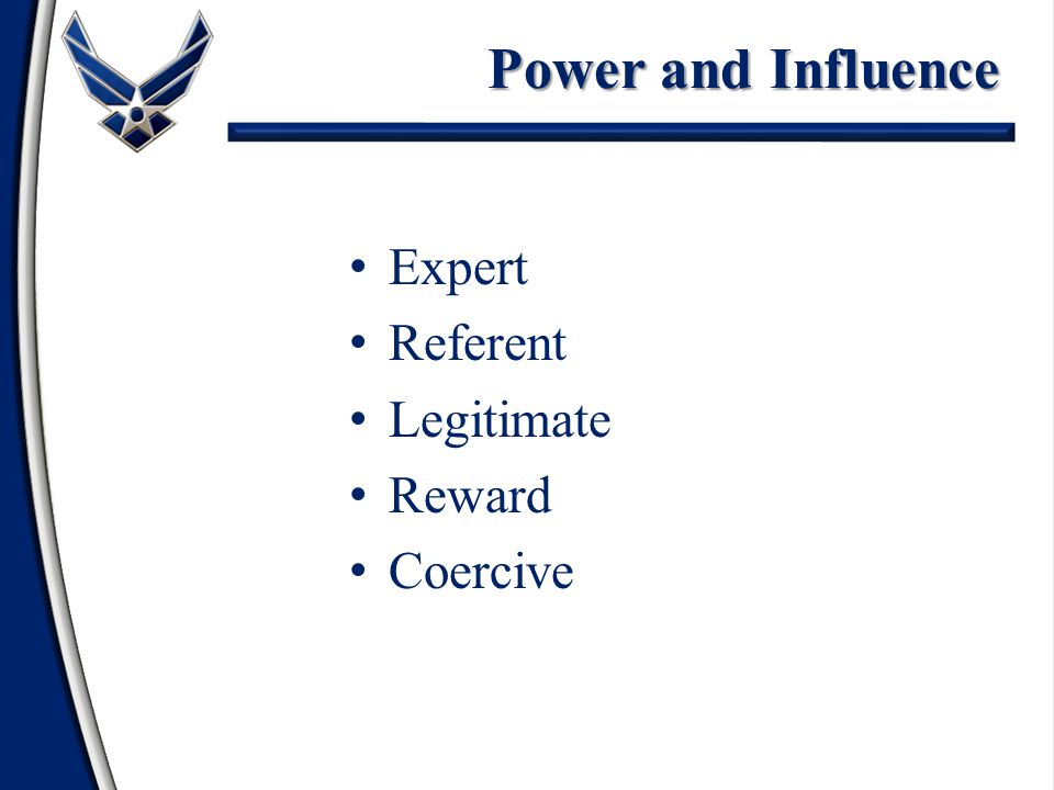 6 Types of Social Power