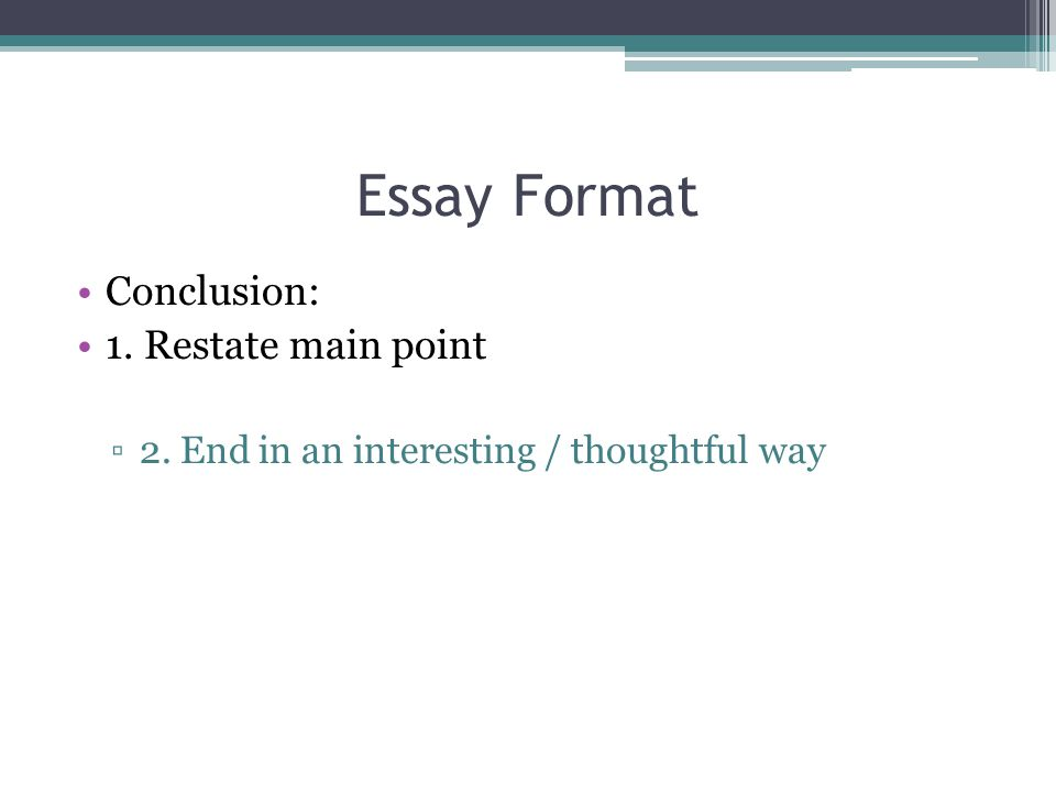 essay format ppt A powerpoint presentation is a totally different beast to an essay here's how to  produce the best ppt presentation in the shortest time possible 1 start by.