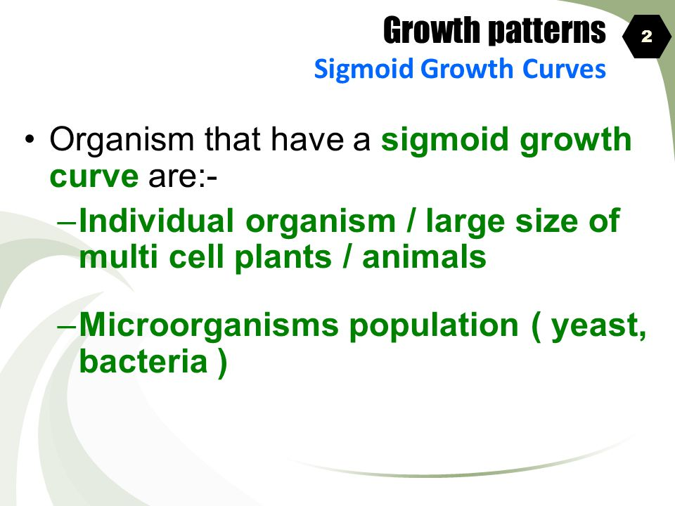 Organism that have a sigmoid growth curve are:-