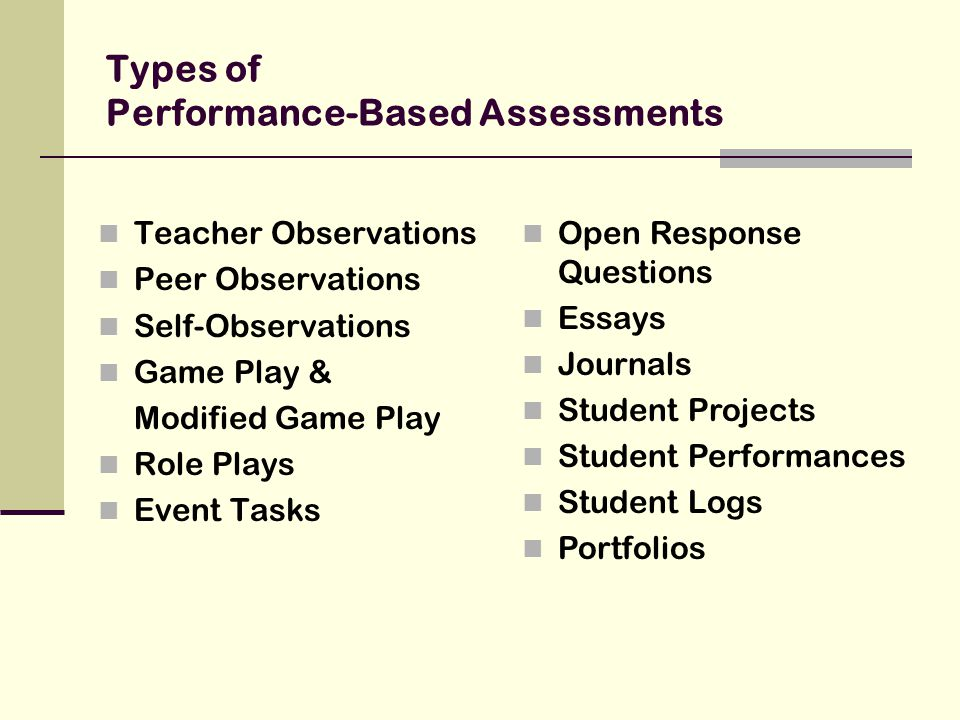 Student Portfolios as an Assessment Tool