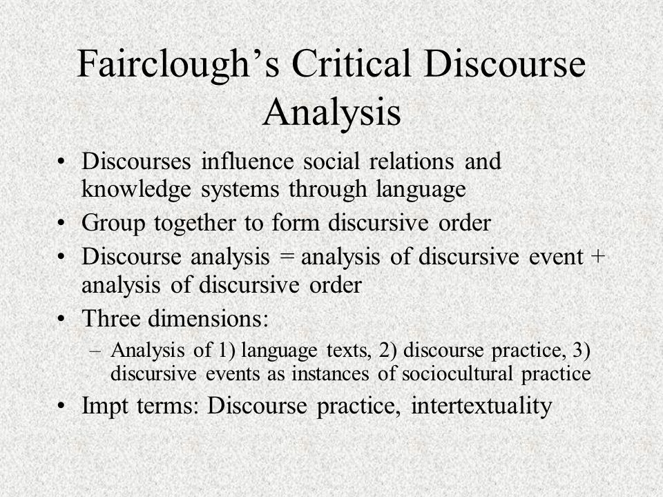 critical dircourse analysis analysis of social Systemic functional linguistics and critical discourse analysis studies in social  change editor(s): lynne young, claire harrison media of systemic functional.