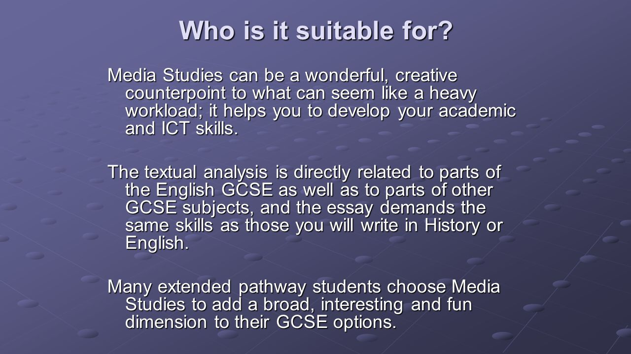 What are the best options to pick for gcse