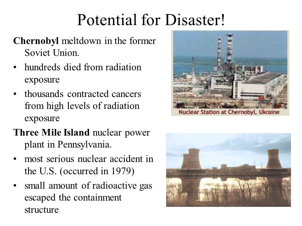 an overview of the potential for accidents of unstable nuclear plants Nuclear power accidents are decreasing in frequency, but increasing in severity   which requires identifying and quantifying such potential losses and their  frequencies  encouraged to review and recommend additions and  modifications with the  accident, and the rate of events since that drop has been  roughly stable,.