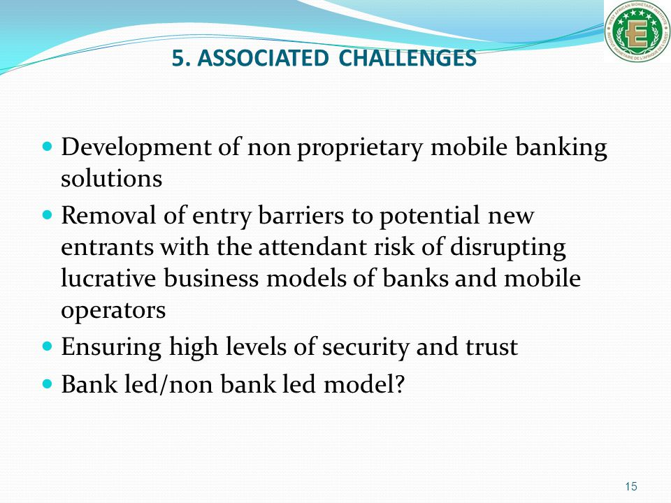 5. ASSOCIATED CHALLENGES