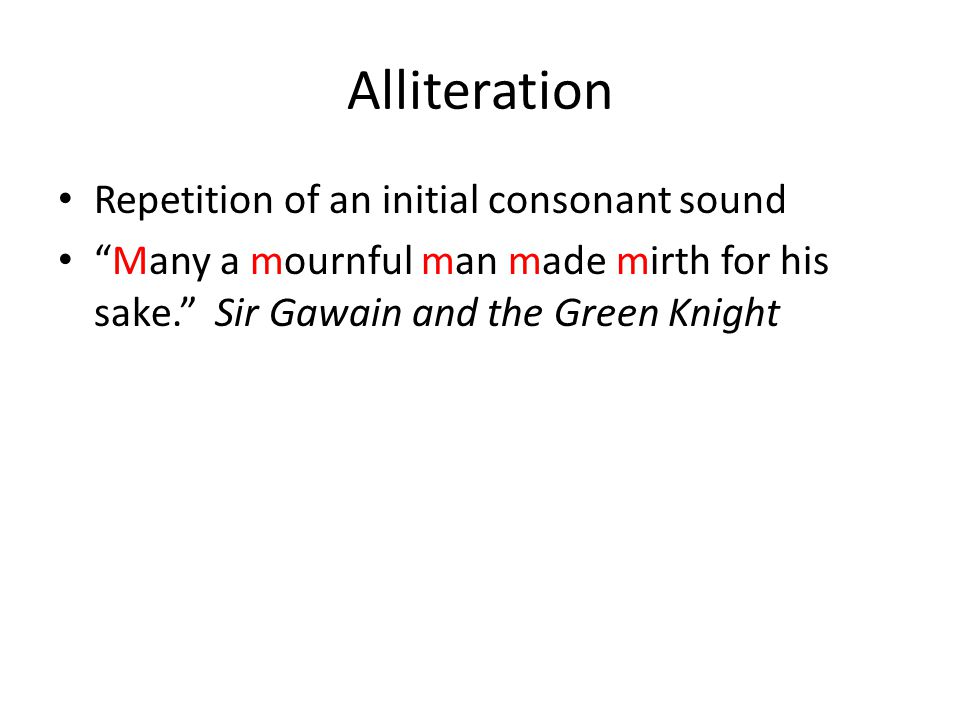 Literary Analysis of Sir Gawain and the Green Knight