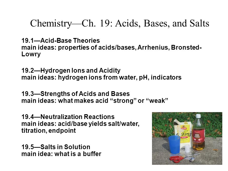 acid base chemistry and water In one of elementary reactions in chemistry, the acid-base reaction, in a   kwon states, this finding addresses, as in water, the cooperative.