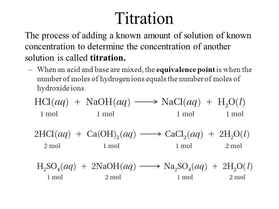 Titration 19.4.