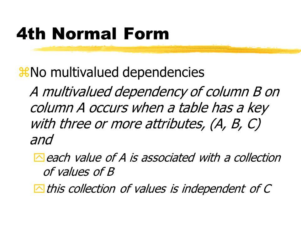 Database Design: Normalization - ppt download