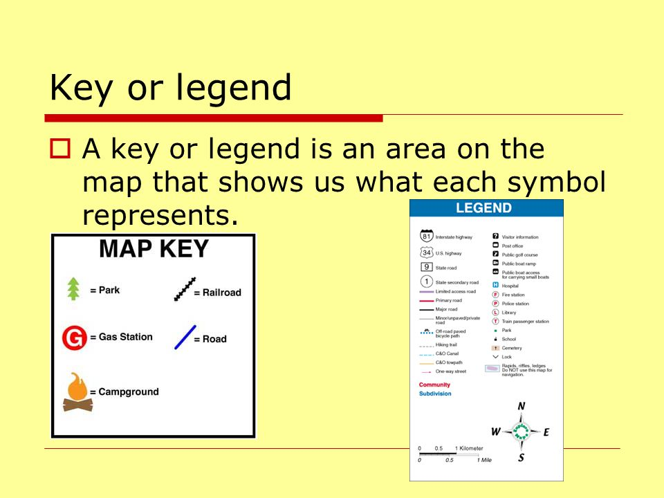 Social Studies Map Skills Ppt Video Online Download - Us map key