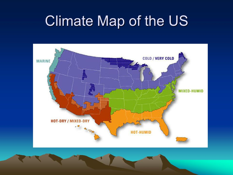 Maps Ms Avery July Ppt Video Online Download - Us climate map