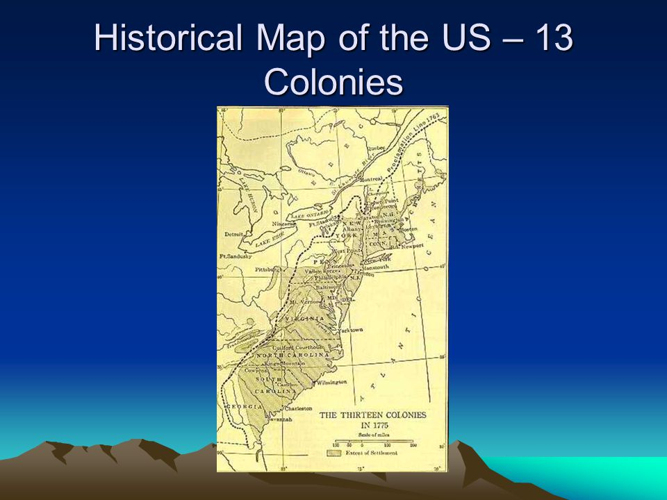 Maps Ms Avery July Ppt Video Online Download - Map of us 13 colonies