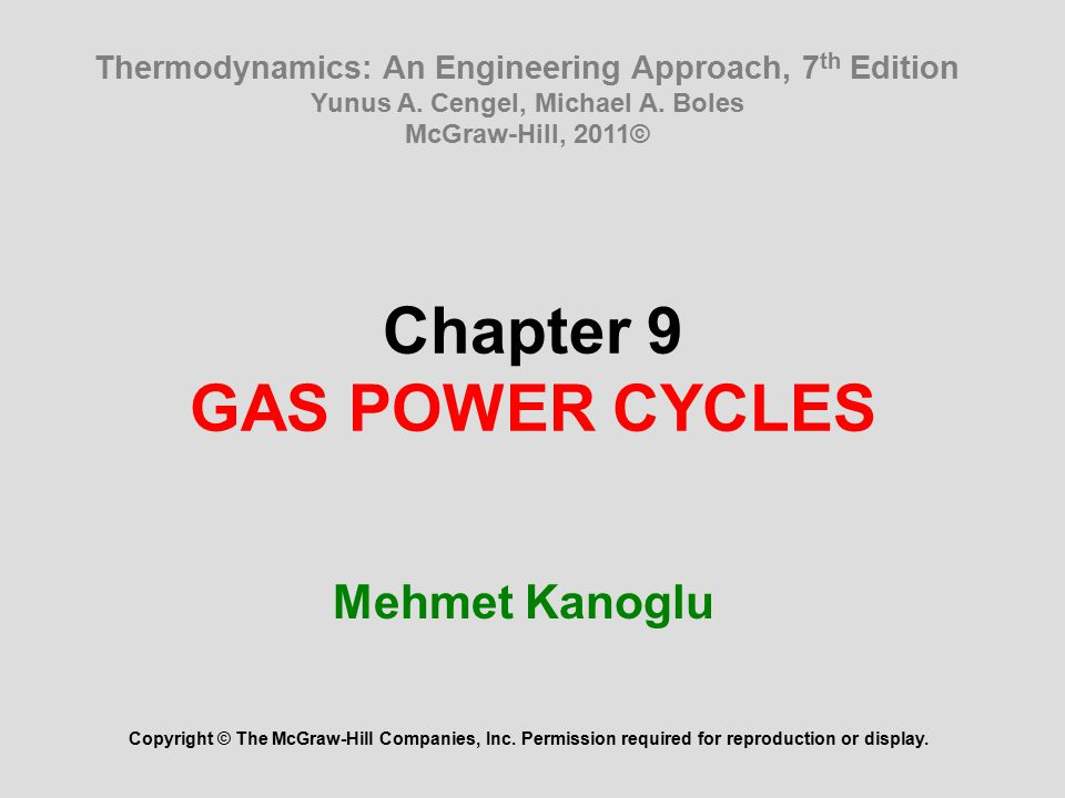 Chapter 9 gas power cycles ppt video online download chapter 9 gas power cycles fandeluxe Gallery