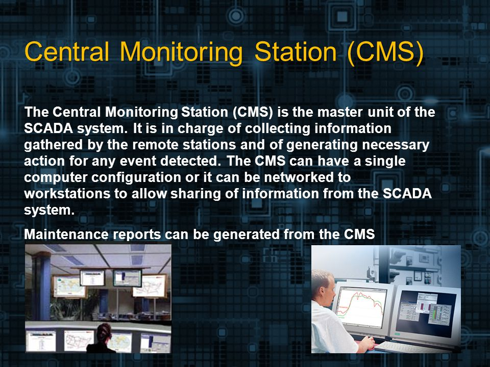 Central Monitoring Station : Scada and telemetry presented by ppt video online download