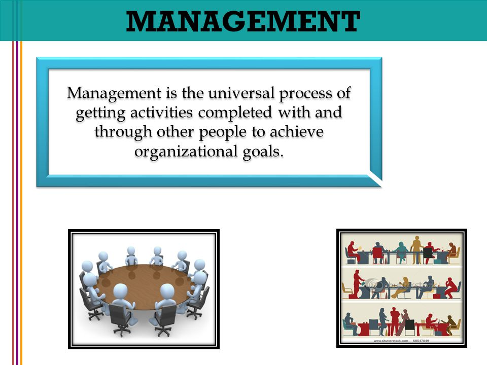 the management process in achieving organizational goals Use smart goals to launch management by objectives that the organization should strive to achieve the management process and maximize the.