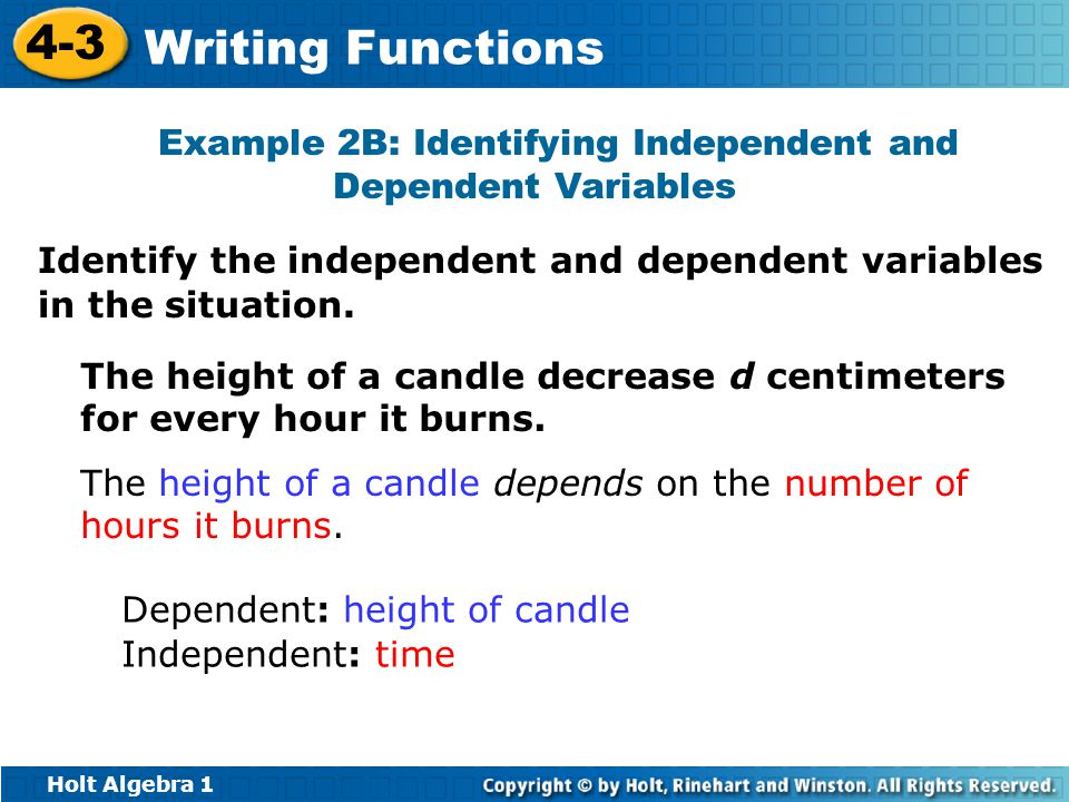 Examples Of Independent And Dependent Variables Idealstalist