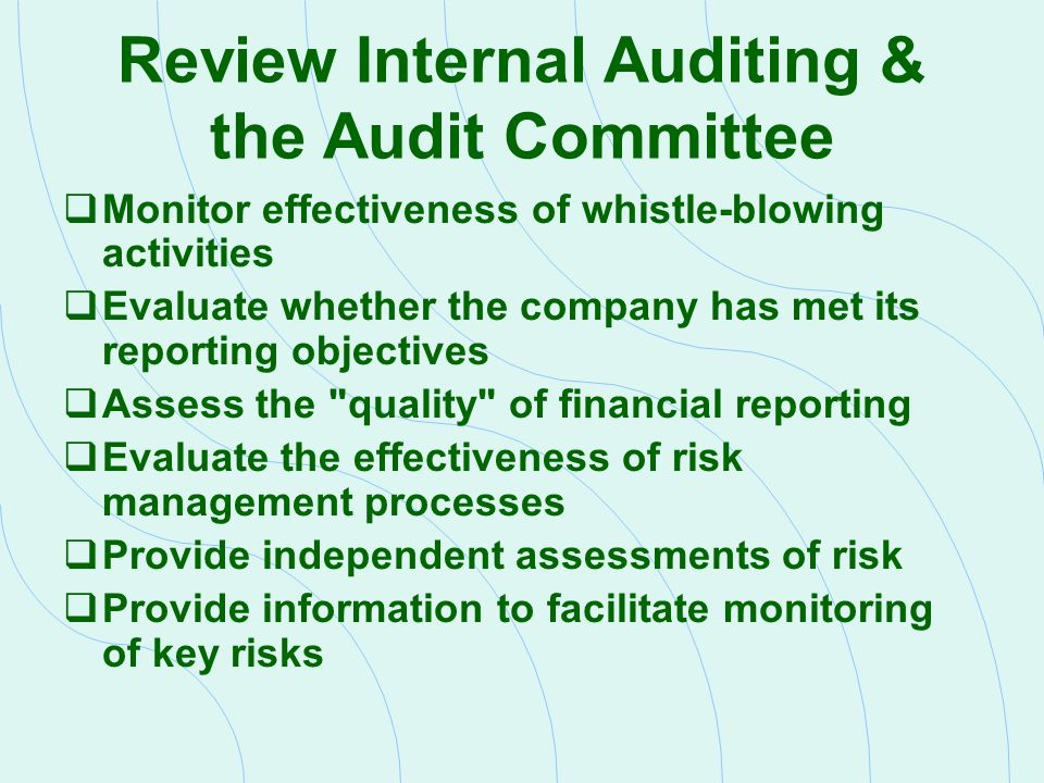 outsourcing of internal audit 2 proposal for the provision of outsourced internal audit services rfq no: 8/2/1/6-2014 conditions of tender 1 the prospective bidder's attention is drawn to the following list of forms, attached to this document and other.