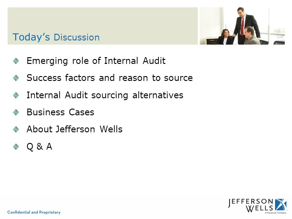 role of internal audit The role of internal audit in erm internal auditing is an independent, objective assurance and consulting activity.